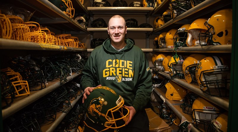 What the Bison Football Team Packs for the National Championship