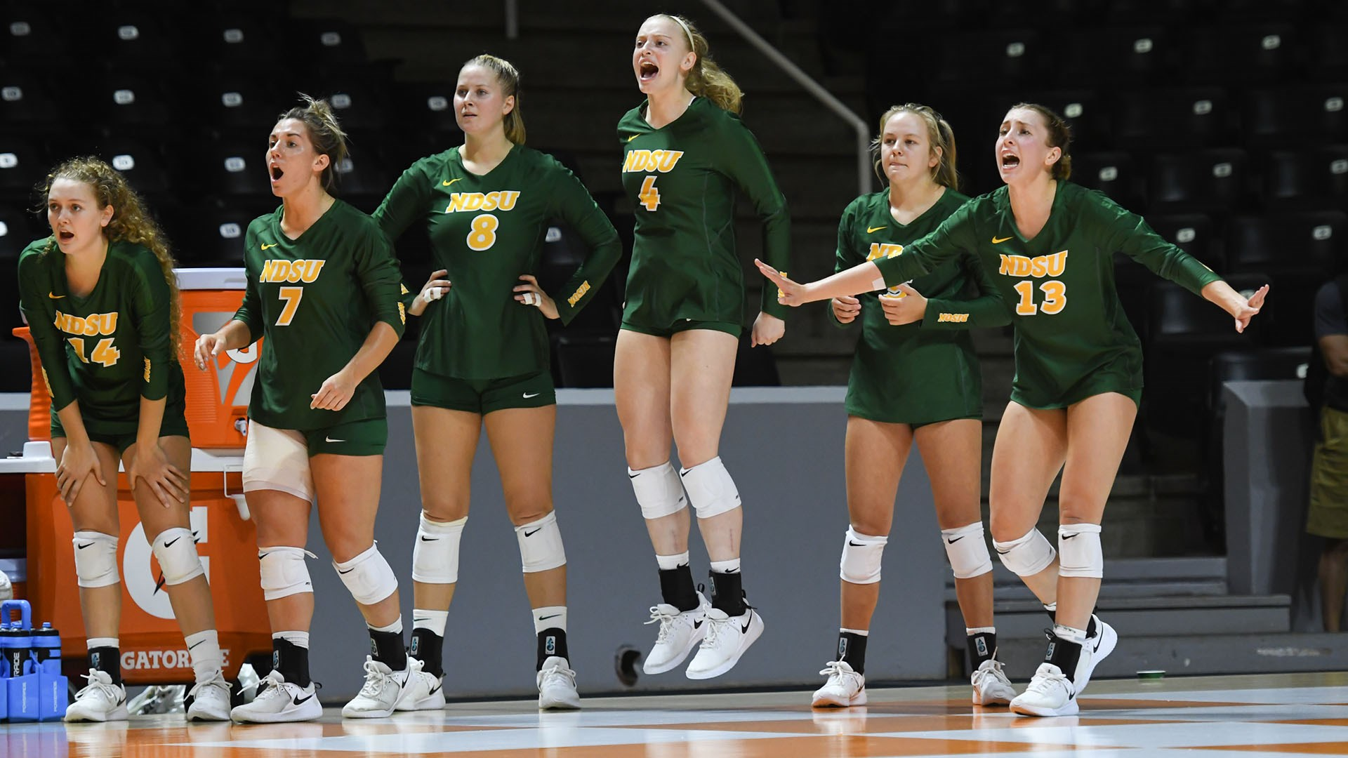 Ndsu Entertains Purdue Fort Wayne Western Illinois In The Bentson Bunker Fieldhouse Ndsu