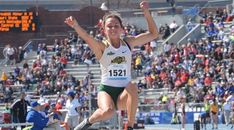 NDSU Track & Field Competes at Three Meets in Texas & California this Week