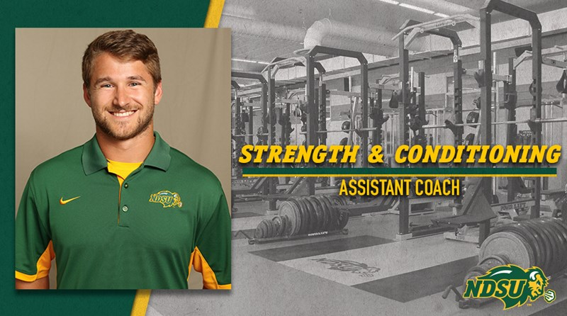 NDSU Names Eric Perkins Assistant Strength and Conditioning Coach