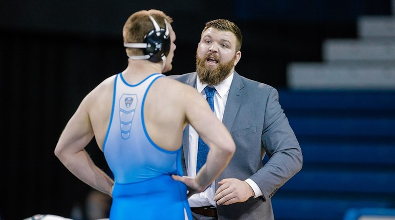 Two-time All-American Austin Marsden Named NDSU Assistant Wrestling Coach