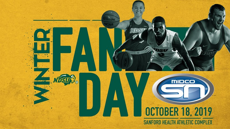 Bison Fan Day Presented by MidcoSN Scheduled for October 18