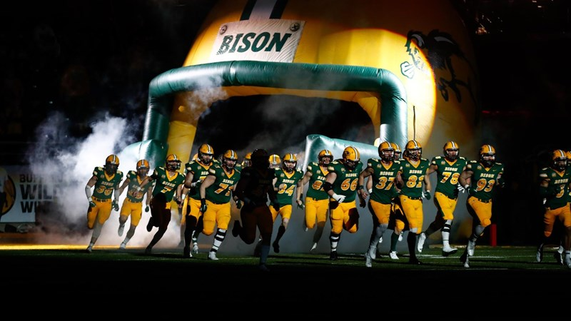 North Dakota State Hosts Eastern Washington in First Round of FCS Playoffs - NDSU
